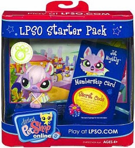 Littlest Pet Shop Online LPSO Web Game  Starter Pack Jet Nightly [Bat]