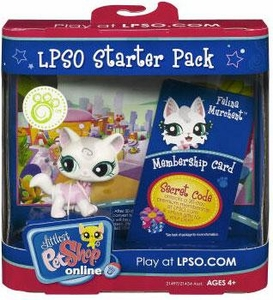 Littlest Pet Shop Online LPSO Web Game  Starter Pack Felina Murchent [Cat]