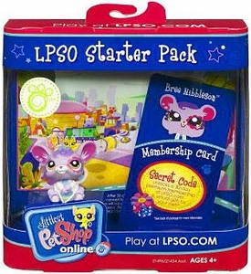Littlest Pet Shop Online LPSO Web Game  Starter Pack Bree Nibbleson [Mouse]