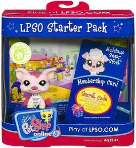 Littlest Pet Shop Online LPSO Web Game  Starter Pack Mudelaine Sugar-Snout [Pig]
