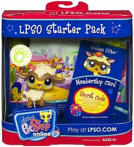 Littlest Pet Shop Online LPSO Web Game  Starter Pack Woolma O' Chic [Sheep]