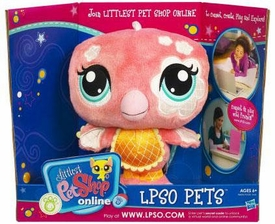 Littlest Pet Shop Online LPSO Web Game Plush Pet Flamingo