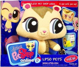 Littlest Pet Shop Online LPSO Web Game Plush Pet Chipmunk