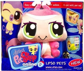 Littlest Pet Shop Online LPSO Web Game Plush Pet Ladybug