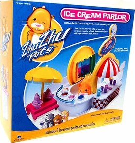 Zhu Zhu Pets Playset Ice Cream Parlor Set [Hamsters Not Included!]