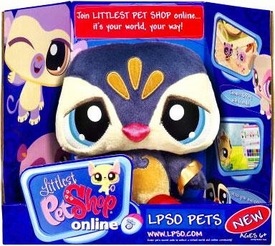 Littlest Pet Shop Online LPSO Web Game Plush Pet Penguin {Version 1} [Blue Face]