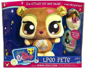 Littlest Pet Shop Online LPSO Web Game Plush Pet Bear