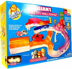 Zhu Zhu Pets Deluxe Playset Giant Hamster City Sky Mall [Includes Pinkie & Yo-Yo!]