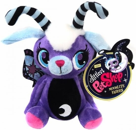 Littlest Pet Shop Moonlite Fairies 7 Inch Plush Purple Fairie