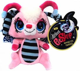 Littlest Pet Shop Moonlite Fairies 7 Inch Plush Pink Fairie