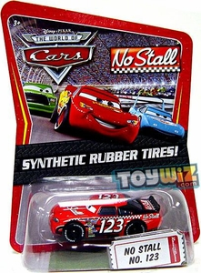 Disney / Pixar CARS Movie Exclusive 1:55 Die Cast Car with Synthetic Rubber Tires No Stall