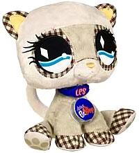 Littlest Pet Shop VIP Virtual Interactive Pet Plush Figure Ferret