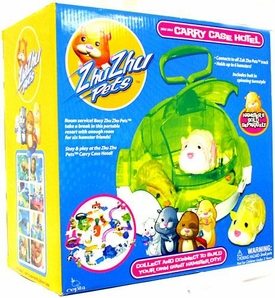 Zhu Zhu Pets Playset Carry Case Hotel [Hamster NOT Included!]