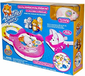 Zhu Zhu Pets Playset Jilly's Deluxe Hamster House Starter Set [Includes Jilly, Random Baby & Stroller]