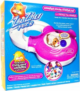 Zhu Zhu Pets Deluxe Playset Hamster House Starter Set [Includes Exclusive Patches Hamster!]