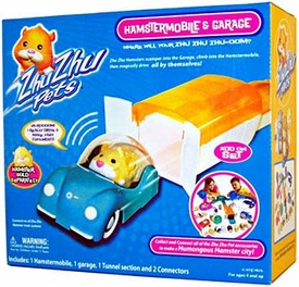 Zhu Zhu Pets Playset Hamstermobile Garage With Car [Hamster NOT Included!]