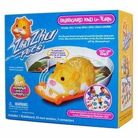 Zhu Zhu Pets Accessory Set Sk8Board & U-Turn[Hamster NOT Included!] BLOWOUT SALE!