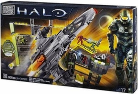 Halo Mega Bloks Set #97017 Countdown [UNSC Sabre with Gantry]