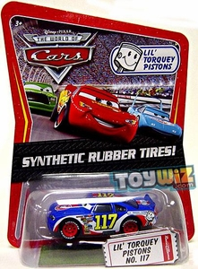 Disney / Pixar CARS Movie Exclusive 1:55 Die Cast Car with Synthetic Rubber Tires Lil' Torquey Pistons