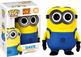 Funko POP! Despicable Me 2 Vinyl Figure Dave New!
