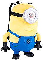 Despicable Me 2 Plush 15 Inch Backpack Minion Stuart