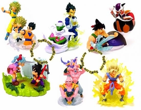 Dragon Ball Z Set of 6 Mini 3.5 Inch PVC Figures