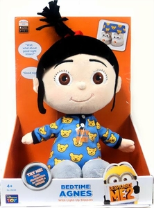Despicable Me 2 Electronic Plush Bed Time Agnes [Light Up Slippers]