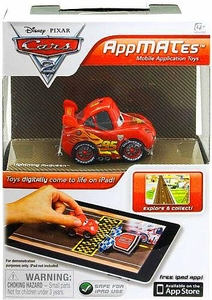 Disney Pixar Cars 2 AppMates Mobile Application Toys Lightning McQueen