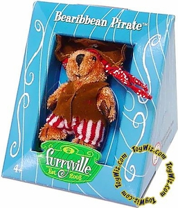 Furryville Collectible Single Figure Bearibbean Pirate