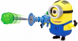 Despicable Me 2 Deluxe 4 Inch Action Figure Stuart & Fart Dart Launcher