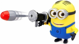 Despicable Me 2 Deluxe 4 Inch Action Figure Dave & Rocket Launcher