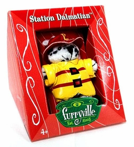 Furryville Collectible Single Figure Station Dalmation