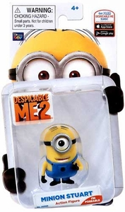 Despicable Me 2 Poseable 2 Inch Action Figure Minion Stuart
