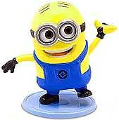 Despicable Me 2 PVC 2 Inch LOOSE Mini Figure Dave [Waving Banana]