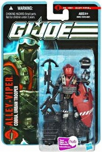 GI Joe Pursuit of Cobra 3 3/4 Inch Action Figure Alley-Viper [Cobra Urban Trooper]