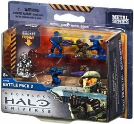 Halo Universe Mega Bloks Set #97035 Battle Pack 2
