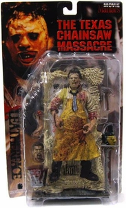 McFarlane Toys Movie Maniacs Series 1 Action Figure Leatherface [Bloody Variant]