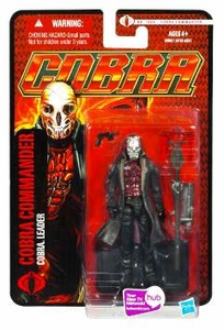 GI Joe Pursuit of Cobra 3 3/4 Inch Action Figure Cobra Commander {Cobra Leader} [Red Package]