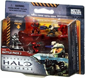 Halo Universe Mega Bloks Set #97036 Battle Pack 3