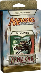 Magic the Gathering Zendikar Theme Deck Intro Pack The Adventurers