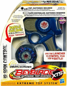 Beyblades XTS IR Spin Control Gravity Destroyer [X-102]