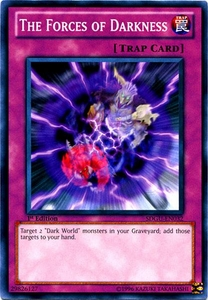 YuGiOh 5D's Structure Deck Gates of the Underworld Single Card Common SDGU-EN032 The Forces of Darkness