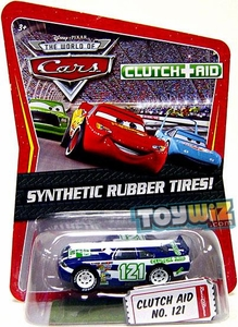 Disney / Pixar CARS Movie Exclusive 1:55 Die Cast Car with Synthetic Rubber Tires Clutch Aid
