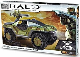 Halo Mega Bloks Exclusive Set #96973 Anniversary Edition: UNSC Warthog