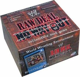 WWE Raw Deal Card Game No Way Out Booster Box