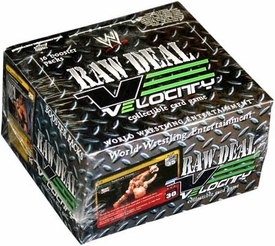 WWE Raw Deal Card Game Velocity Booster Box