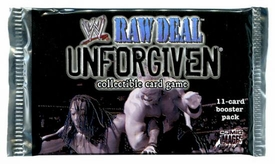WWE Raw Deal Card Game Unforgiven Booster Pack