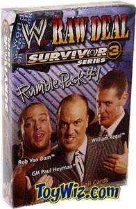 WWE Raw Deal Card Game Survivor Series 3 Rumble Pack #1
