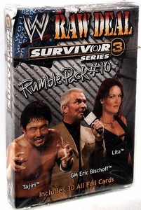 WWE Raw Deal Card Game Survivor Series 3 Rumble Pack #10