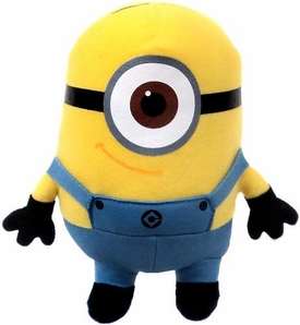 Despicable Me 2 Plush 7 Inch Figure Minion Stuart BLOWOUT SALE!